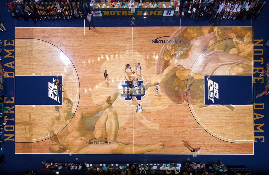 Notre Dame Home Court2