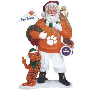 Clemson Santa